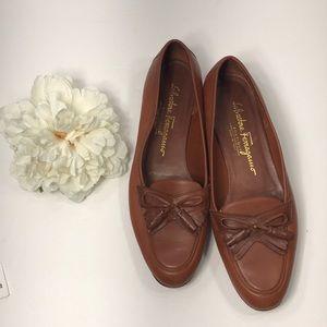 Salvatore Ferragamo Boutique Leather Loafers